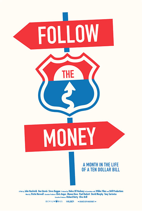 follow the money documentary film poster